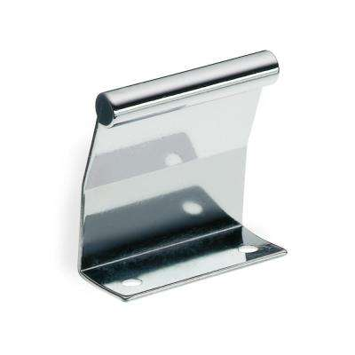 polished chrome tab cabinet pull