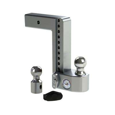 10 in. Drop Adjustable Class V Ball Mount