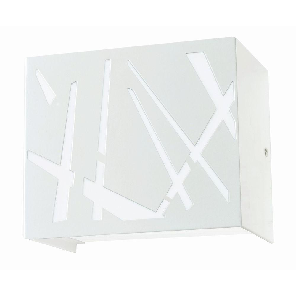 Radionic Hi Tech Orly White LED Sconce