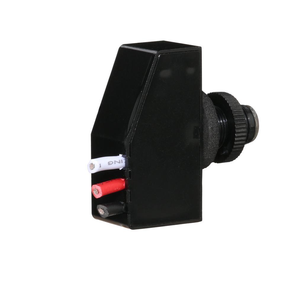Defiant 500-Watt 7/16 in. Mini on Outdoor Dusk to Dawn Light Control, on