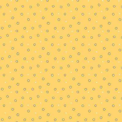 Floral Dot Ditsy Wallpaper