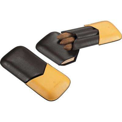 Isaiah Brown and Yellow Cigar Case