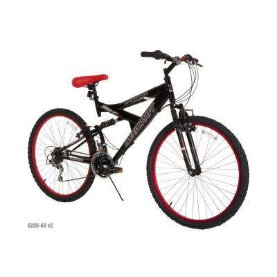 26 in. Mens Equator Bike with Dual Suspension