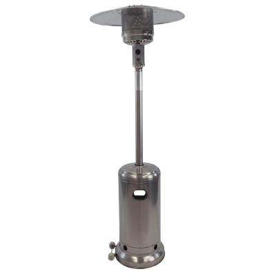 41,000 BTU Deluxe Stainless Steel Gas Patio Heater