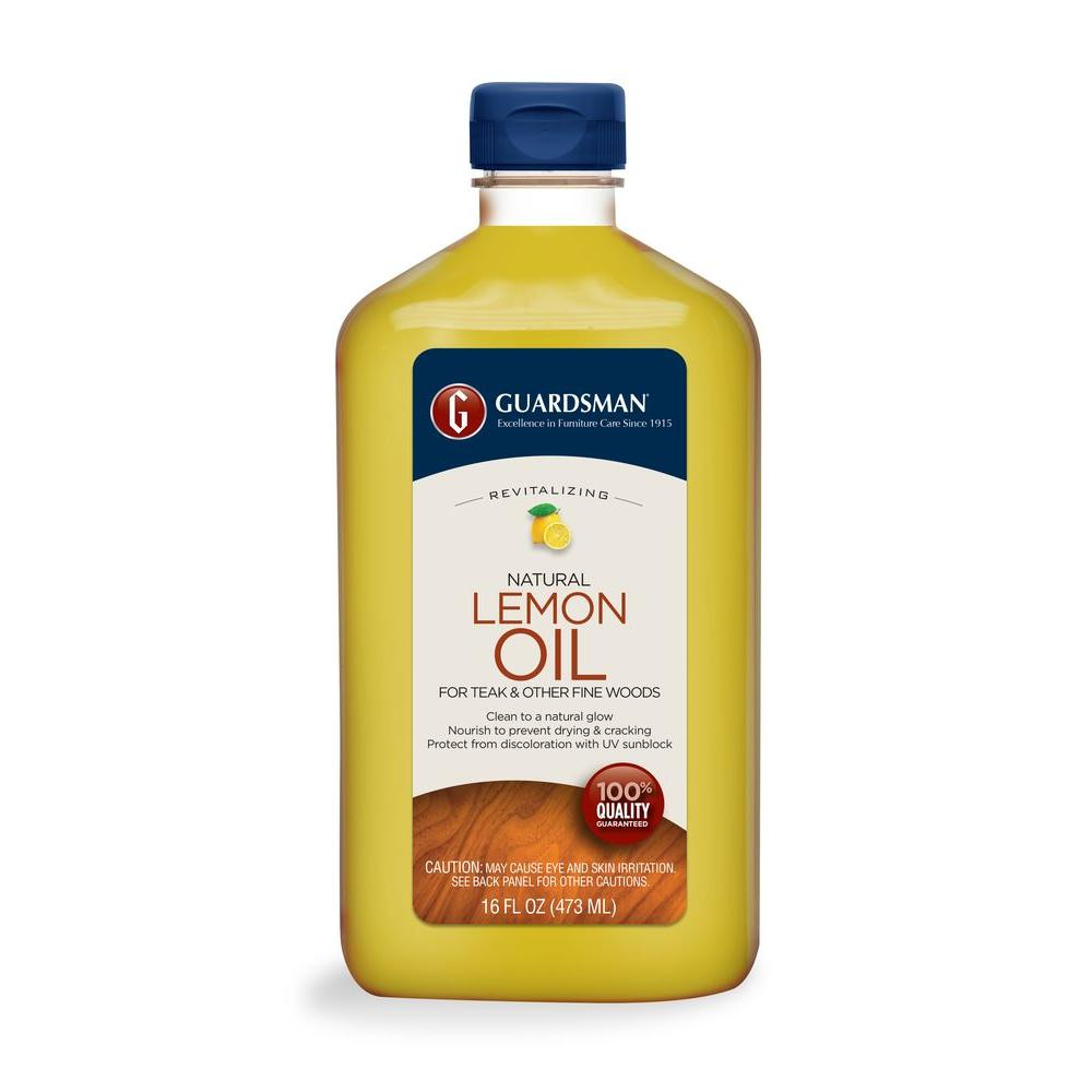 Guardsman 16 oz. Revitalizing Lemon Oil UV Protection