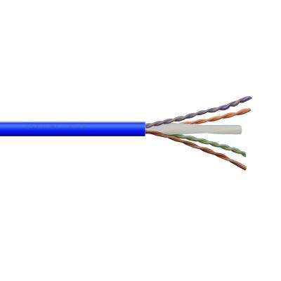 23AWG 550Mhz Plenum Rated CMP Yellow by Syston Cable Cat6 Bulk Cable 1000ft Pure Copper Solid UTP