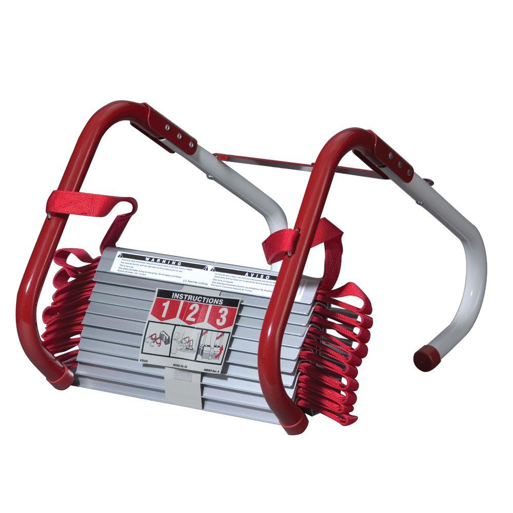 Kidde 25 Ft L 3 Story Fire Escape Ladder 468094 The