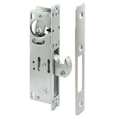 1-1/8 in. Backset Aluminum Hook Style Door Mortise Deadlock