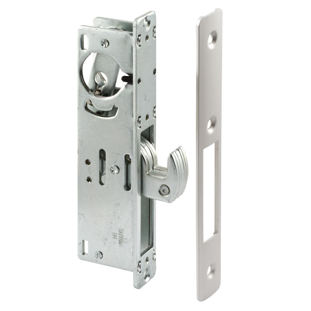 1-1/8 in. Backset Aluminum Hook Style Door Mortise Deadlock
