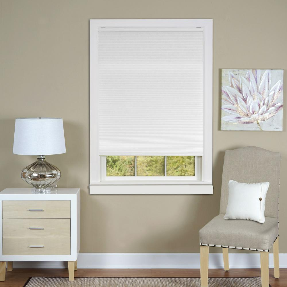 cordless cellular shades. L Top Down-Bottom Up Honeycomb White Cordless Cellular Shade Shades