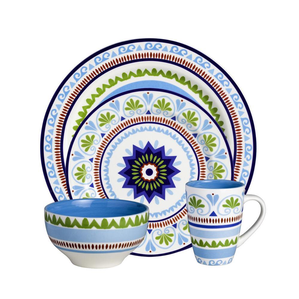 Marrakesh 16-Piece Dinnerware Set