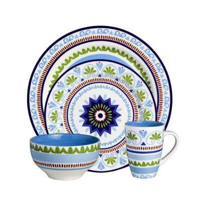 Marrakesh 16-Piece Dinnerware Set