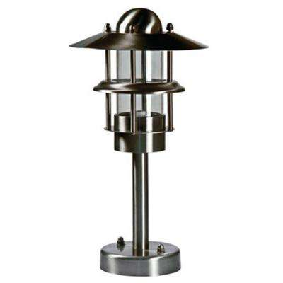 Ayan 1-Light Stainless Steel Outdoor Pathway Light