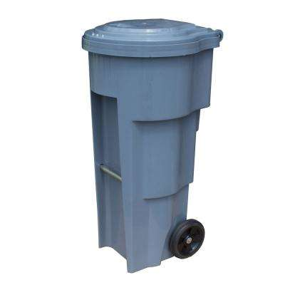Free Garden Tuff 32 Gal. Ultimate Bear Proof Bin-Grey