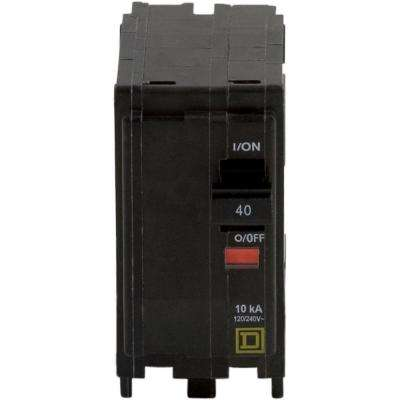 QO 40 Amp 2-Pole Circuit Breaker