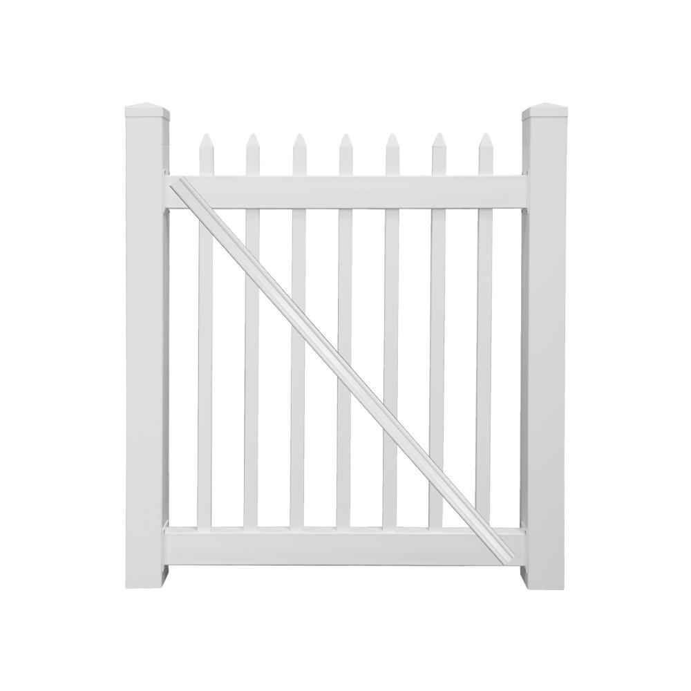 Metal - Gate - Privacy - Fencing - Lumber & Composites - The Home Depot