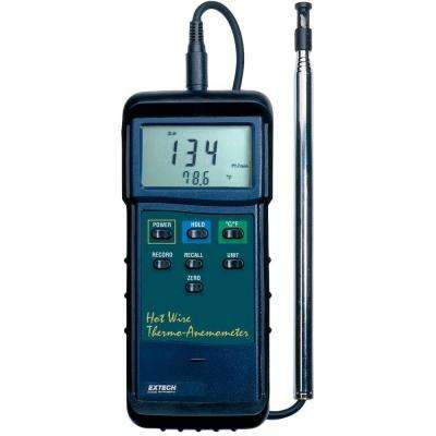 Heavy Duty Hot Wire Anemometer