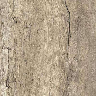 8 in. x 10 in. Laminate Sheet in Rediscovered Oak with Virtual Design SoftGrain Finish
