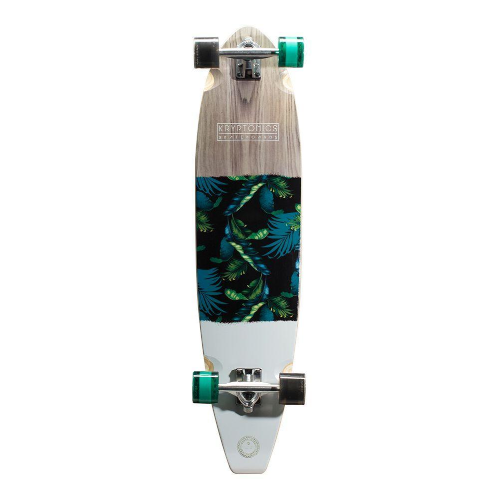 Kryptonics 40 inch Tahiti Blocktail Longboard Complete Skateboard by Kryptonics