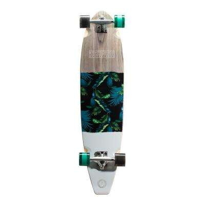 40 in. Tahiti Blocktail Longboard Complete Skateboard
