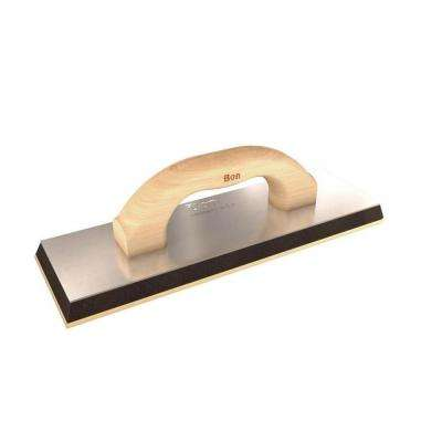 12 in. x 4 in. x 5/8 in. Grout Float with Wood Handle