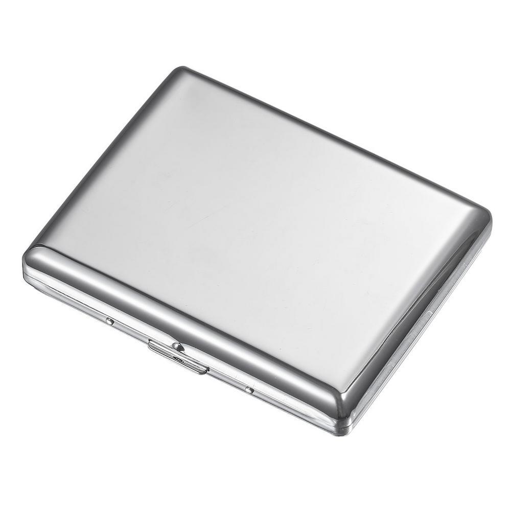 Jesse Chrome Plated Cigarette Case