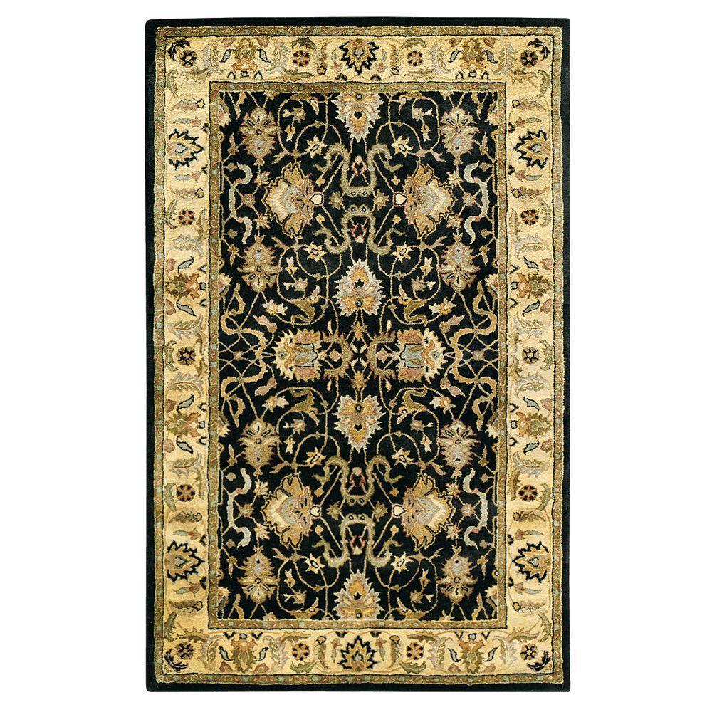 Home Decorators Collection Rochelle Black 8 ft. x 11 ft. Area Rug