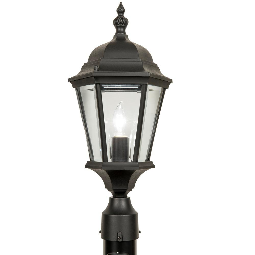 Newport Crest Altina Outdoor Black Post