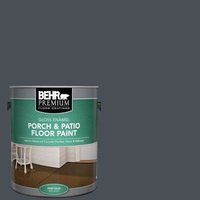 1 gal. #PPU25-22 Chimney Gloss Enamel Interior/Exterior Porch and Patio Floor Paint