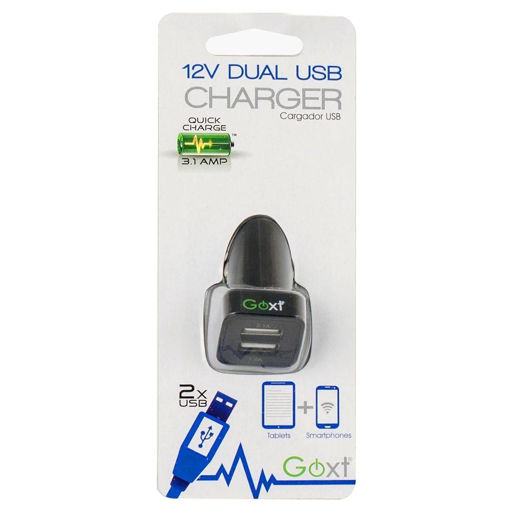 Dual 12-Volt USB Charging Block