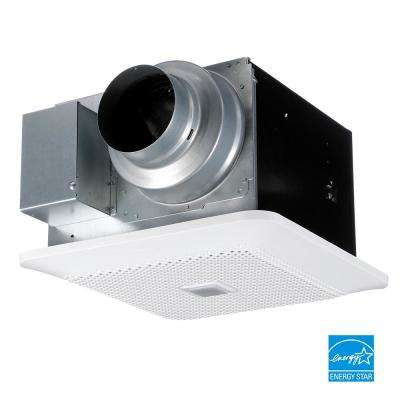 WhisperChoice AutoPick-A-Flow 80/110 CFM Ceiling Bathroom Exhaust Fan with Motion/Humidity Sense and Flex-Z Fast Bracket