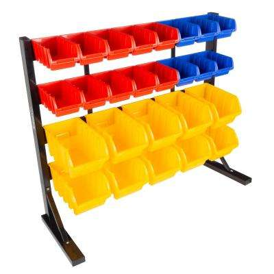 26-Compartment Small Parts Organizer Rack