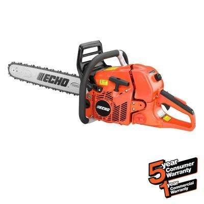 20 in. 59.8cc Gas 2-Stroke Cycle Chainsaw with Wrap Handle