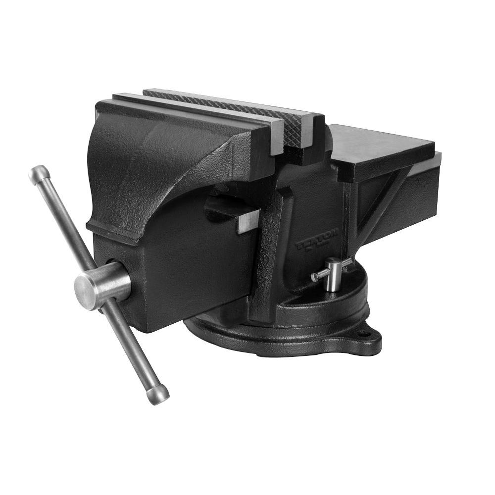 tekton 8 in. swivel bench vise