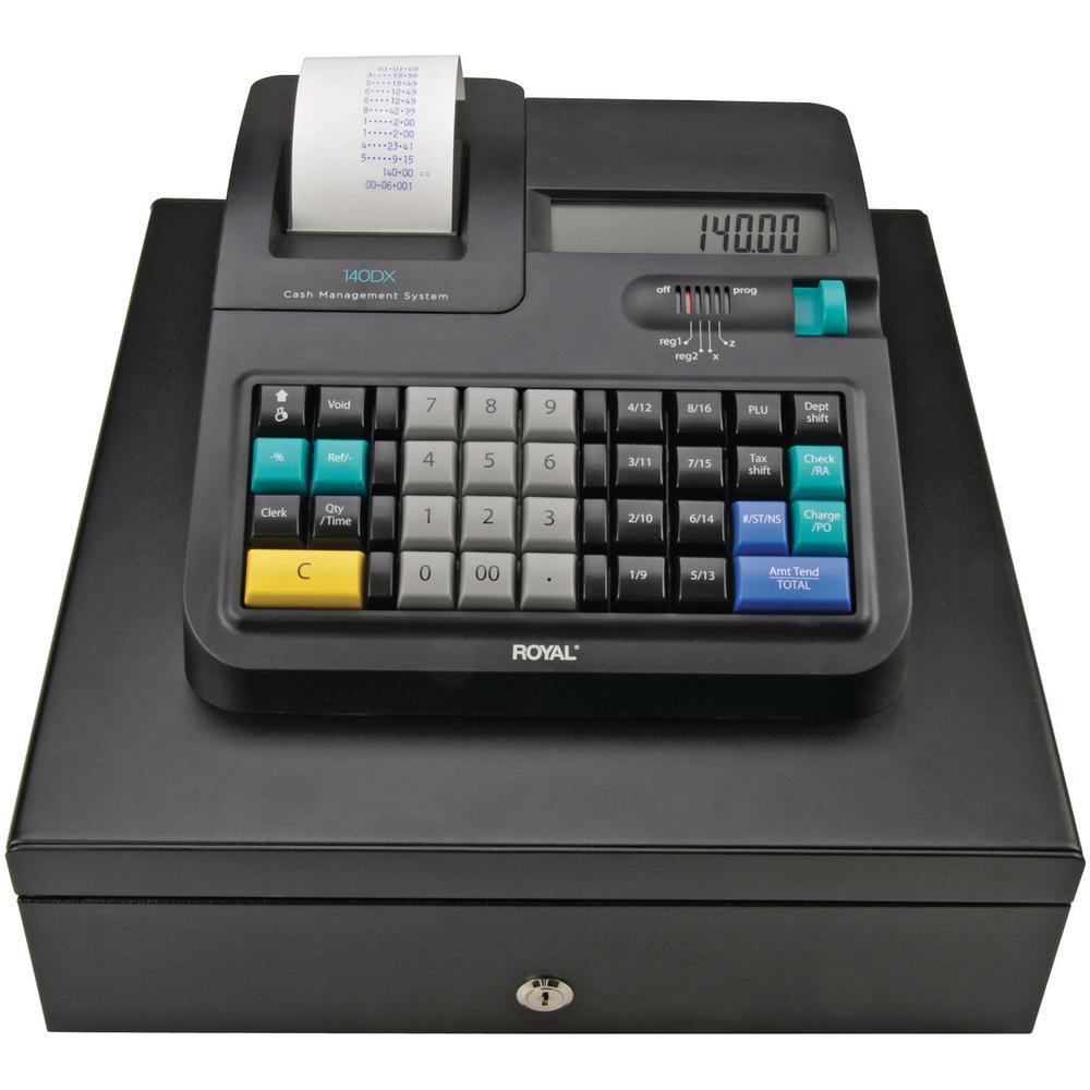 Royal 140dx Cash Register 29475x The Home Depot
