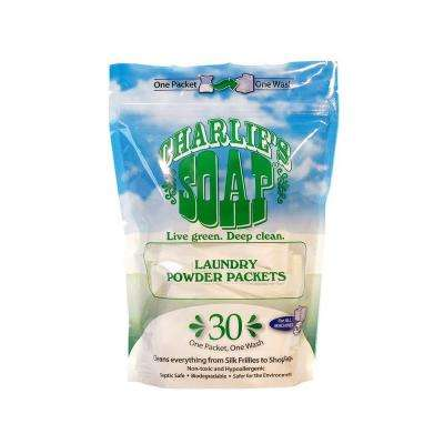 Laundry Powder Packets (30-Pack)