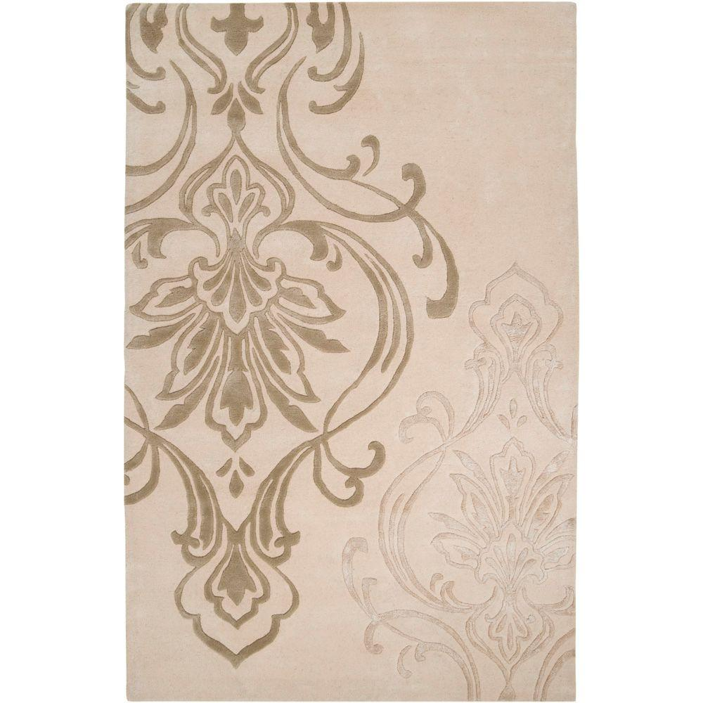 Surya Candice Olson Ivory 2 ft. x 3 ft. Accent Rug
