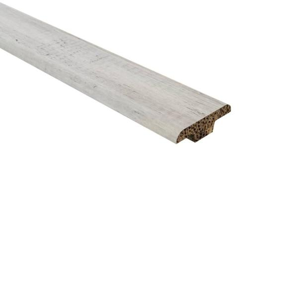 Strand Woven Bamboo Bay Point .362 in. Thick x 1.25 in Wide x 72 in. Length Bamboo T Molding