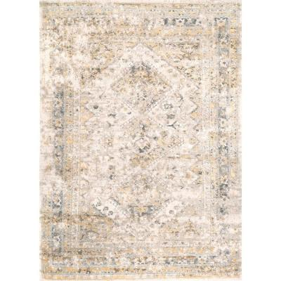 Shaunte Faded Vintage Gold 7 ft. x 9 ft.  Area Rug