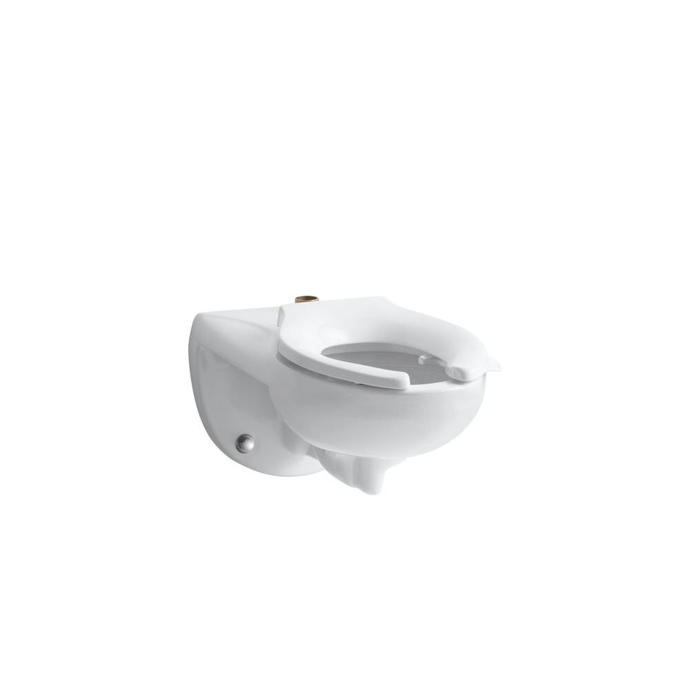 KOHLER Kingston Elongated Toilet Bowl Only in White