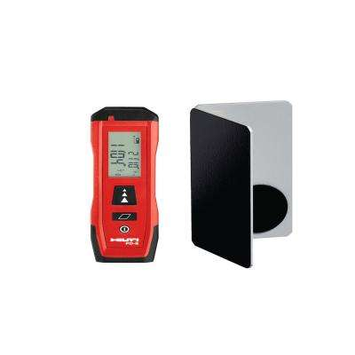 PD-S 200 ft. Compact Laser Range Meter with Target Plate
