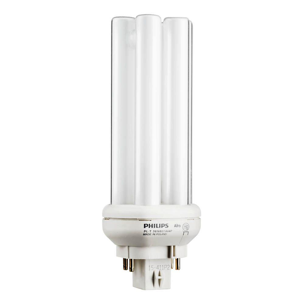 Philips 26w pl t amalgam soft white gx24q 3 quad tube cflni 4 pin philips 26w pl t amalgam soft white gx24q 3 quad tube cflni 4 arubaitofo Image collections