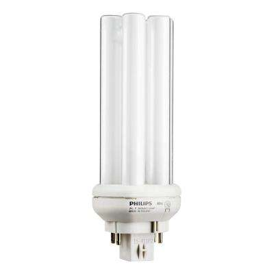 26W PL-T Amalgam Soft White Gx24q-3 Quad Tube CFLNI 4-Pin Light Bulb (6-Pack)