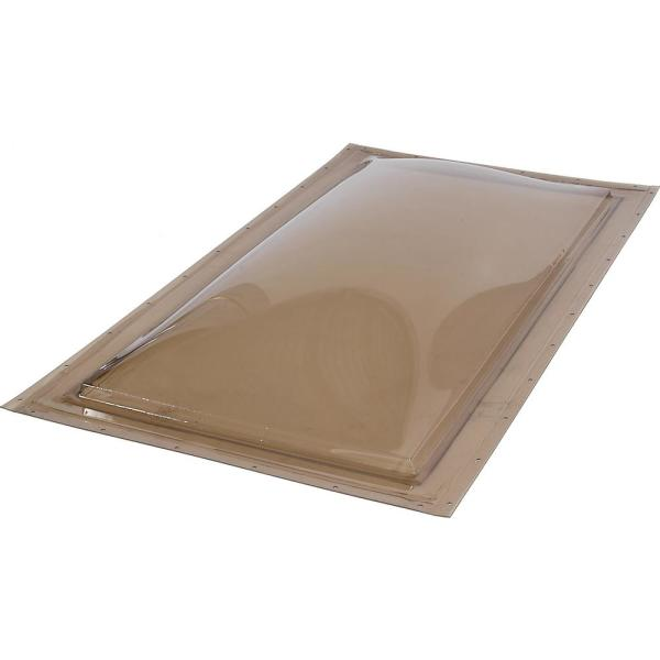 14-1/2 in. x 22-1/2 in. Fixed Self Flashing Polycarbonate Skylight