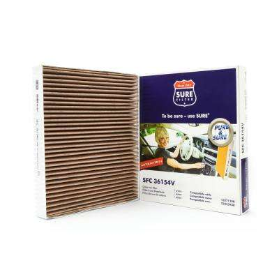 Replacement Antibacterial Cabin Air Filter for Wix 24191 Purolator C36154 Fram CF10775