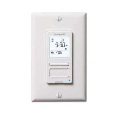 ECONOSwitch 120-Volt 7-Day Program In-Wall Solar Digital Timer Switch