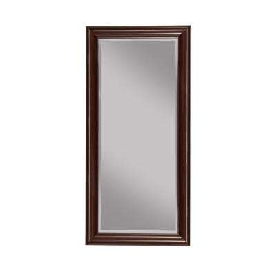 Cherry Full Length Leaner Floor Mirror
