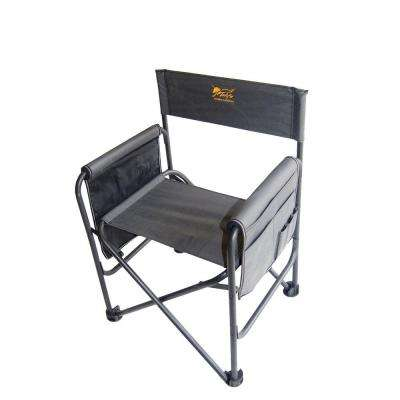 30.5 in. H Sport's Dove Gray Chair