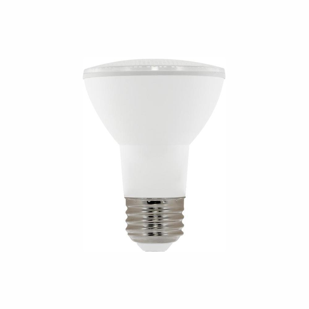 50W Equivalent PAR20 Dimmable LED Light Bulb, Warm White ...