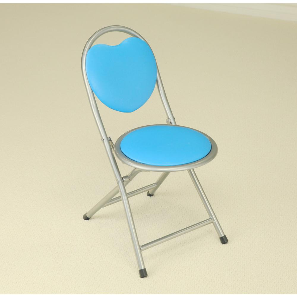 Blue Folding Kids Chair